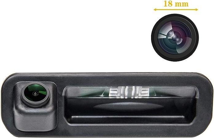 Fahrzeugspezifische Einparkhilfe Kamera Integriert In Kofferraum Griff Ccd Nachtsicht Rückfahrkamera Für Ford Focus Se Ford Focus St Ford Focus 2 Ford Focus 3 Focus Turnier Mk3 Escort Auto