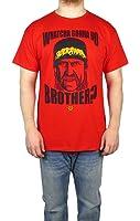 WWE Mens Hulk Hogan Graphic T-shirt Red