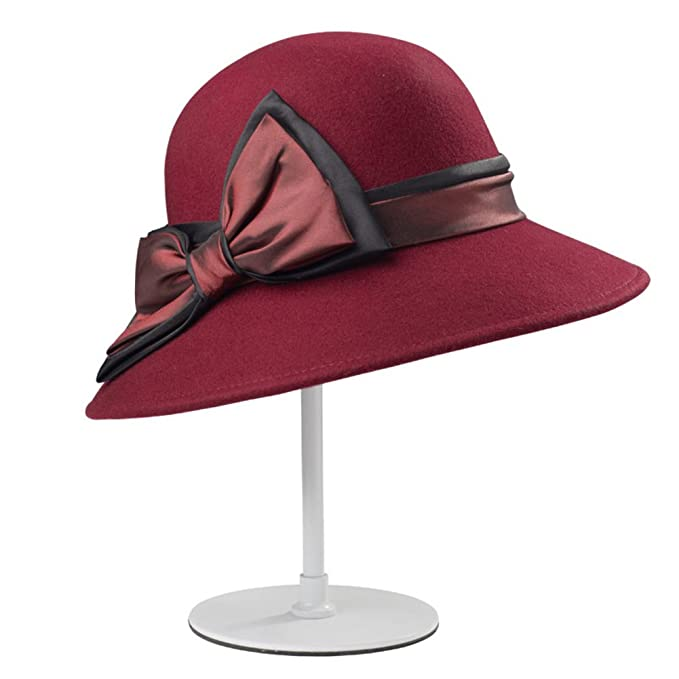 41bda66c3fd65 Sombrero inglés del Estilo Sombreros de la Manera del El Sombrero Retro  cúpula Niño Dayan Mao Sombrero del Arco-A un tamaño  Amazon.es  Ropa y  accesorios