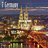 Germany 2018 12 x 12 Inch Monthly Square Wall Calendar, Scenic Travel Europe Germany