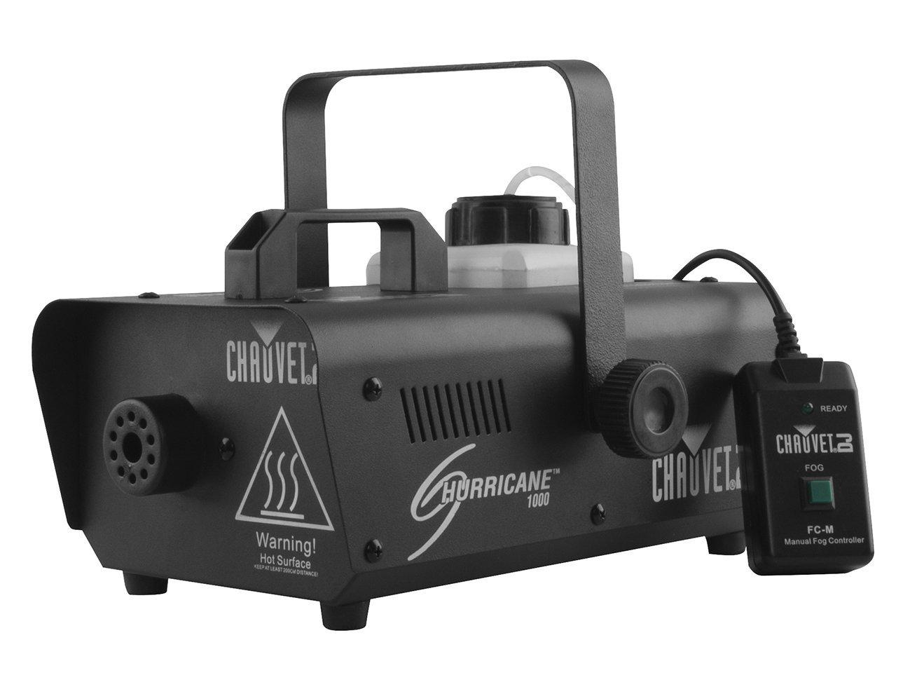 CHAUVET DJ Hurricane 1000 Compact Fog Machine w/Wired Remote by CHAUVET DJ (Image #1)