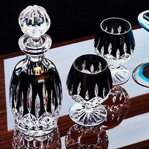 Waterford Lismore Black Spirit Crystal Decanter