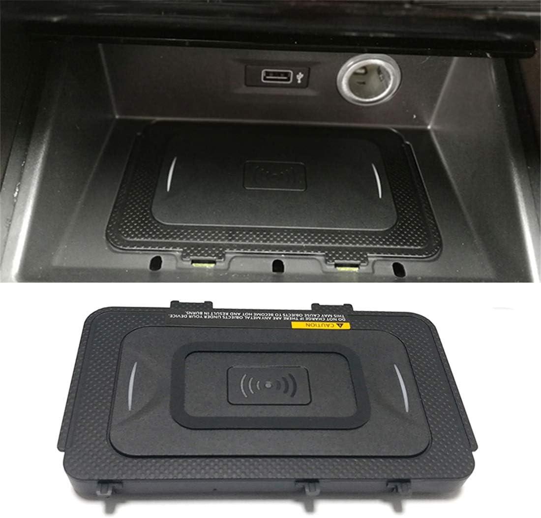 ASHLGQB para Jetta MK7 T-ROC Teramont Phideon 10W Coche QI inalámbrico Cargador inalámbrico Cargador de teléfono los Accesorios de Carga de Placas