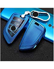 Car Fake Key Case Cover Bag Shell Sleutelhanger Draagbare Auto Sleutel Case Cover Tas Met Sleutelhanger Voor BMW 1 2 3 4 5 6 7 SERIES X1 X3 X4 X5 X6 F30 F34 F10 F07 F20 G30 F15 F16 E60 Auto Sleutelhoe