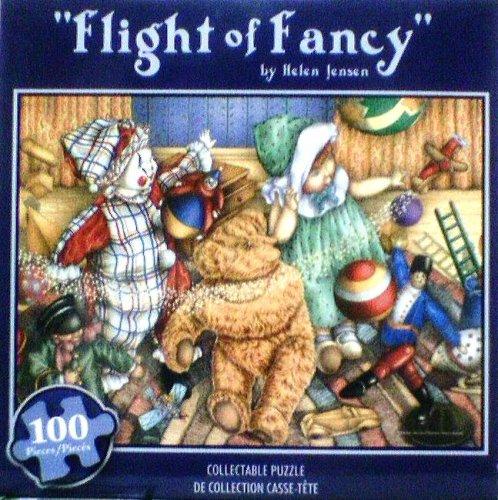 Flight of Fancy 100 Piece Puzzle by Helen Jensen