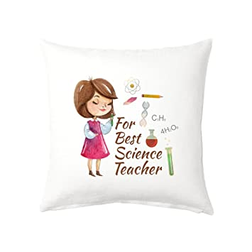 Buy Krazzy Kollections For Best Science Teacher Female Gift Cushion