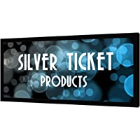 "STR-235125-G Silver Ticket 2.35:1 4K Ultra HD Ready Cinema Format (6 Piece Fixed Frame) Projector Screen (2.35:1, 125"", Grey Material)"