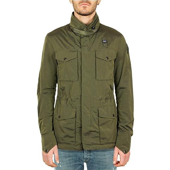 Blauer Field Jacket Nylon Cangiante Matthew Uomo Mod. BLUB04241   Amazon.co.uk  Clothing 12e58d382e8