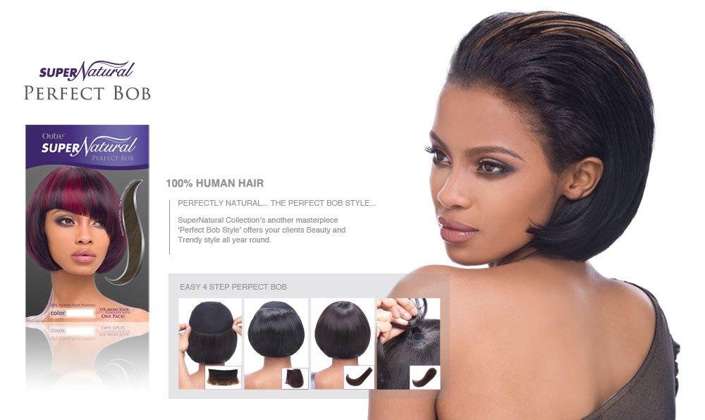 Amazon Outre Supernatural 100 Human Hair Weave Perfect Bob
