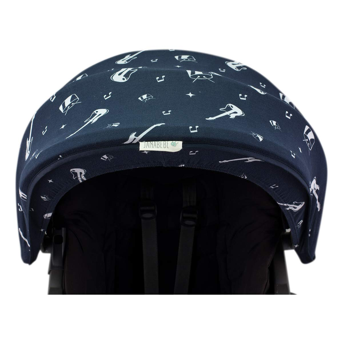 Janabebé Hood Canopy for Stokke Xplori and Stokke Crusi (Rock Hero) by JANABEBE (Image #2)
