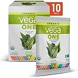 Vega One Organic Meal Replacement Plant Based Protein Powder, Plain Unsweetened - Vegan, Vegetarian, Gluten Free, Dairy…