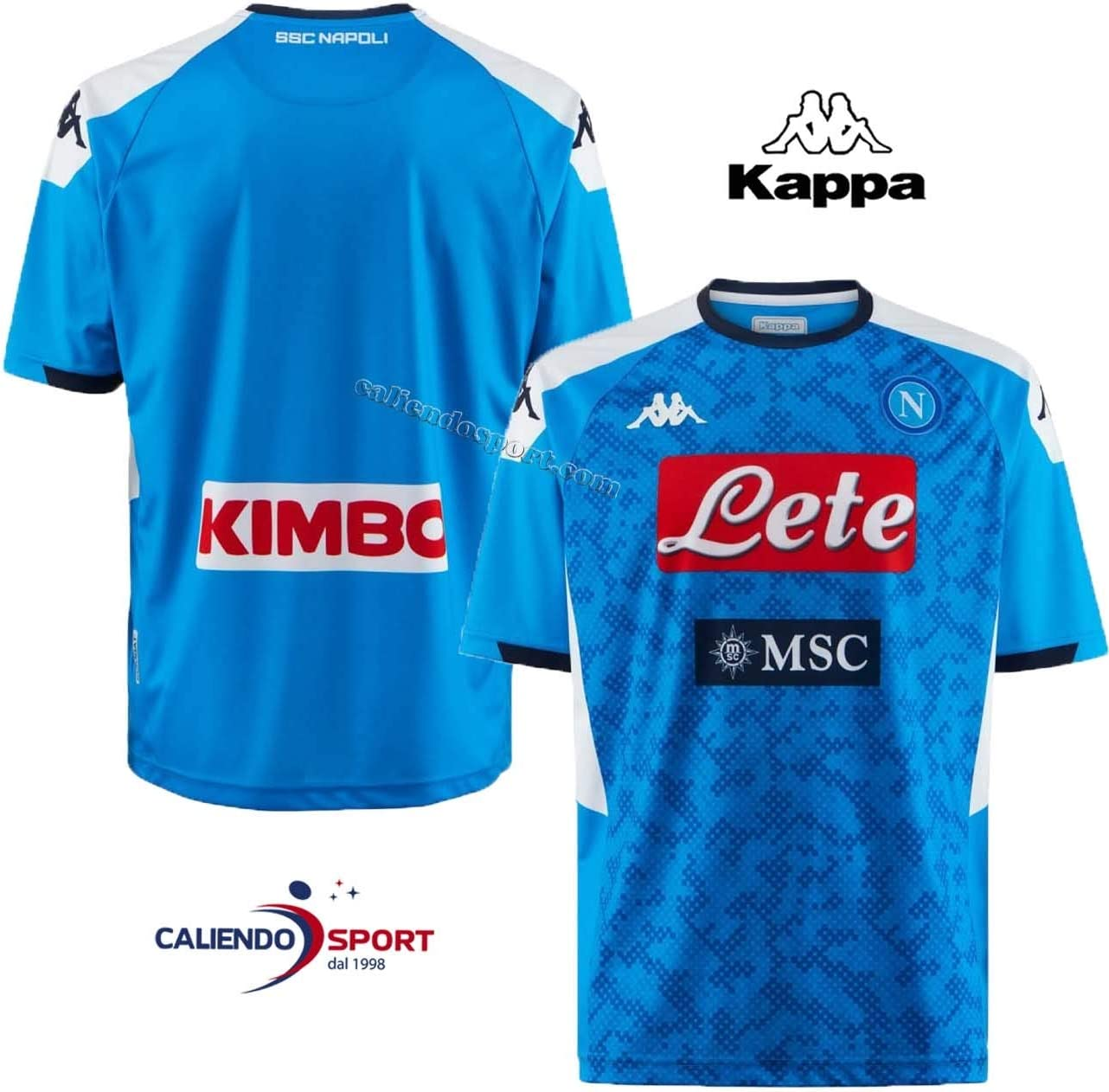 Kappa Maglia Replica Home 2019/2020 - Camiseta De Juego Hombre ...