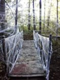 Moon Boat Fake Spider Web Halloween Party Decorations Props 800 sqft Deal (Small Image)