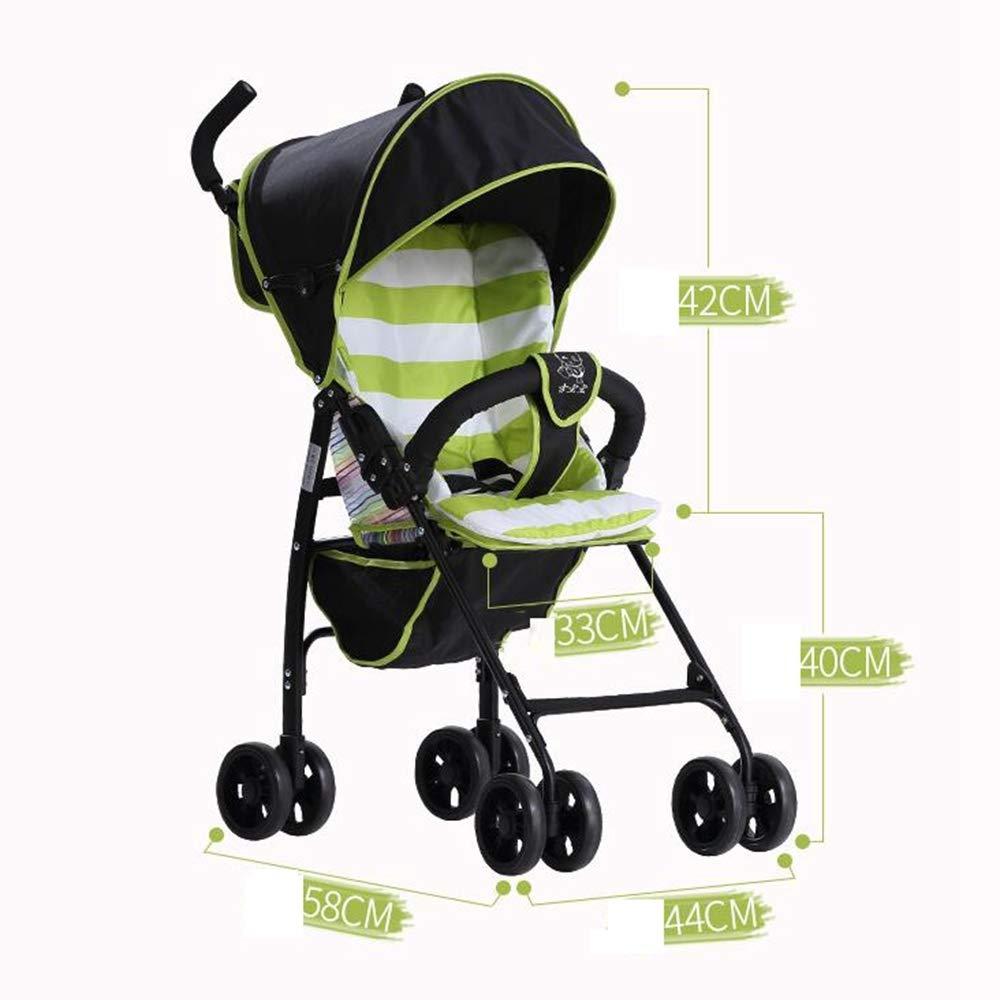 Olydmsky Carro Bebe,Silla de Paseo Silla de Paseo Silla de Paseo Plegable liviano niño del Cochecito de bebé: Amazon.es: Hogar