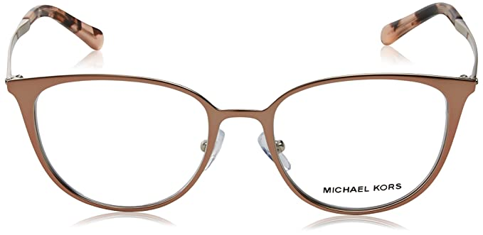 47139e1ca38 MICHAEL KORS Eyeglasses MK3017 1186 Satin Rose Gold Silver at Amazon Men s  Clothing store