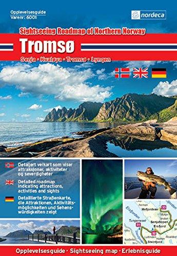 Guide de visite Norvège | Tromsø 1: 250000 Nordeca