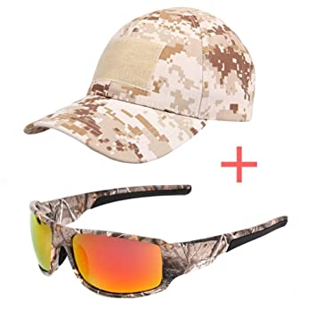 Gafas De Sol Polarizadas Marco De Camuflaje Gafas De Sol ...
