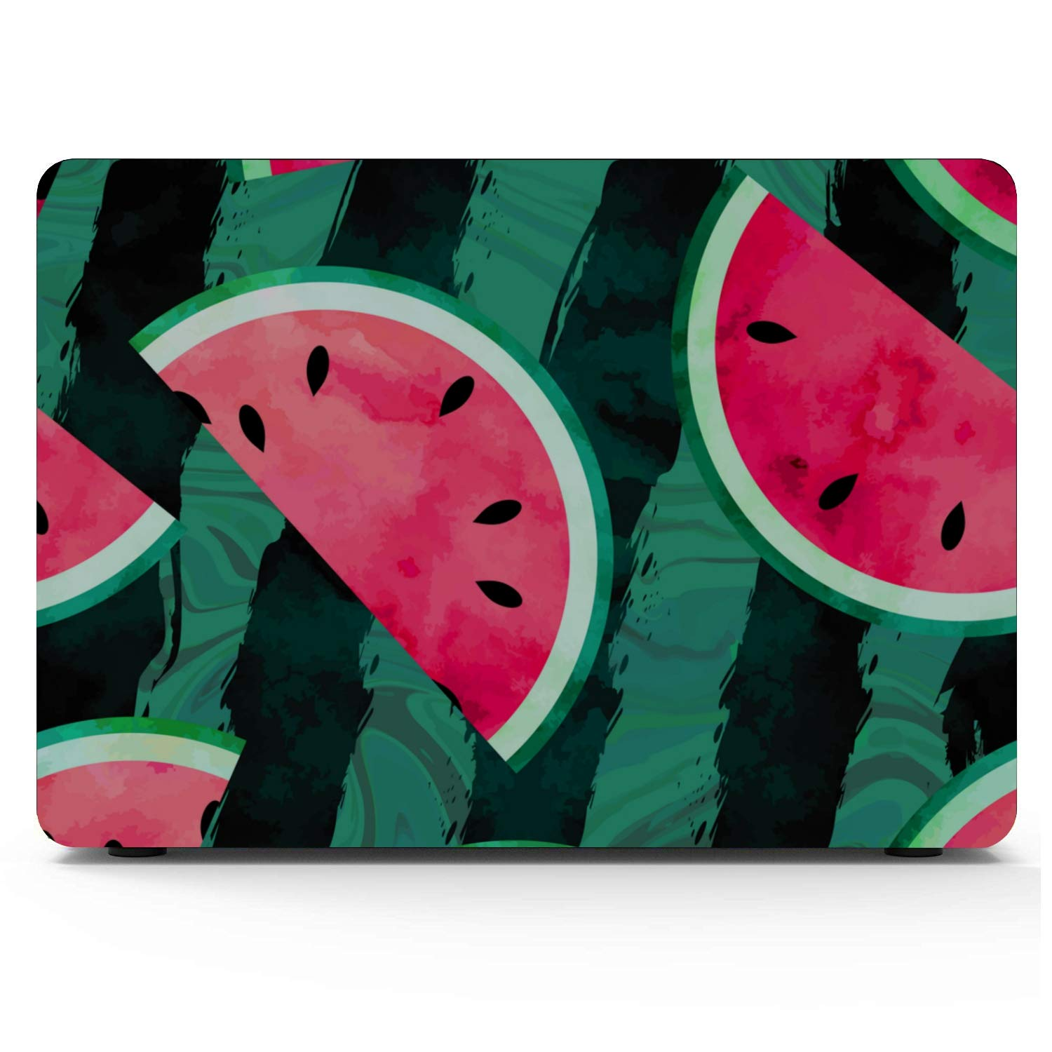 MacBook Pro Retina Case Summer Vintage Cute Fruit Watermelon Plastic Hard Shell Compatible Mac Air 11 Pro 13 15 Cover for Laptop Protection for MacBook 2016-2019 Version