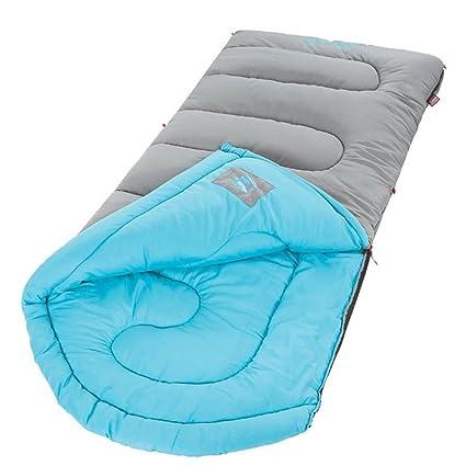Coleman Saco de dormir Dexter para al aire libre Camping gris y azul