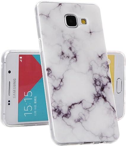 Galaxy A3 2016 Coque , YIGA Marbre Lignes Premium Souple Silicone TPU case Etui Protection Housse pour Samsung Galaxy A3 2016 A310 ( pas pour Samsung ...