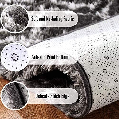 Minimalist Modern Indoor Shag Area Rug,Wool Non Slip Living Room Carpets Trellis Rugs,for Bedroom Home Decor Dining Room