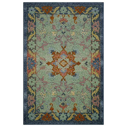 Kitchen Rugs, Maples Rugs [Made in USA][Tilda Artwork Collection] 2'6 x 3'10 Non Slip Padded Small Area Rugs for Living Room, Bedroom, and Entryway