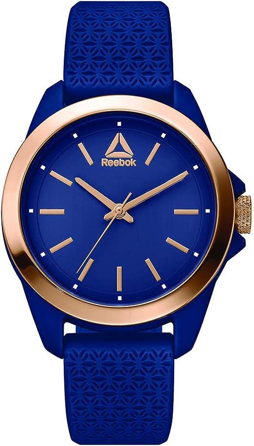 Amazon.com: Reebook Prisma Reloj de mujer azul, caja de ...
