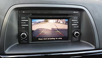 Mazda Cx 5 Backup Camera >> Amazon Com Pyvideo Backup Camera Kit For Mazdafor Sedan Wagon