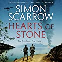 Hearts of Stone Audiobook by Simon Scarrow Narrated by Jonathan Keeble