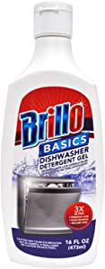 Brillo Basics Dishwasher Detergent Gel 16 oz