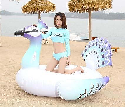 Anillo de Nataci/ón Verano El Mejor Aire Libre de la Playa Juguetes Aplicar a Ni/ños y Los Adultos Flotador Gigante Inflables