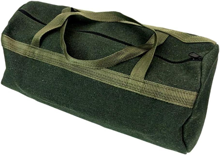 Gelentea Dicker Canvas-Beutel Werkzeugtasche Aufbewahrungstasche Organizer Instrument Tasche Tragbar f/ür Klempner Elektriker Hardware Zubeh/ör Aufbewahrung 35CMx13CM