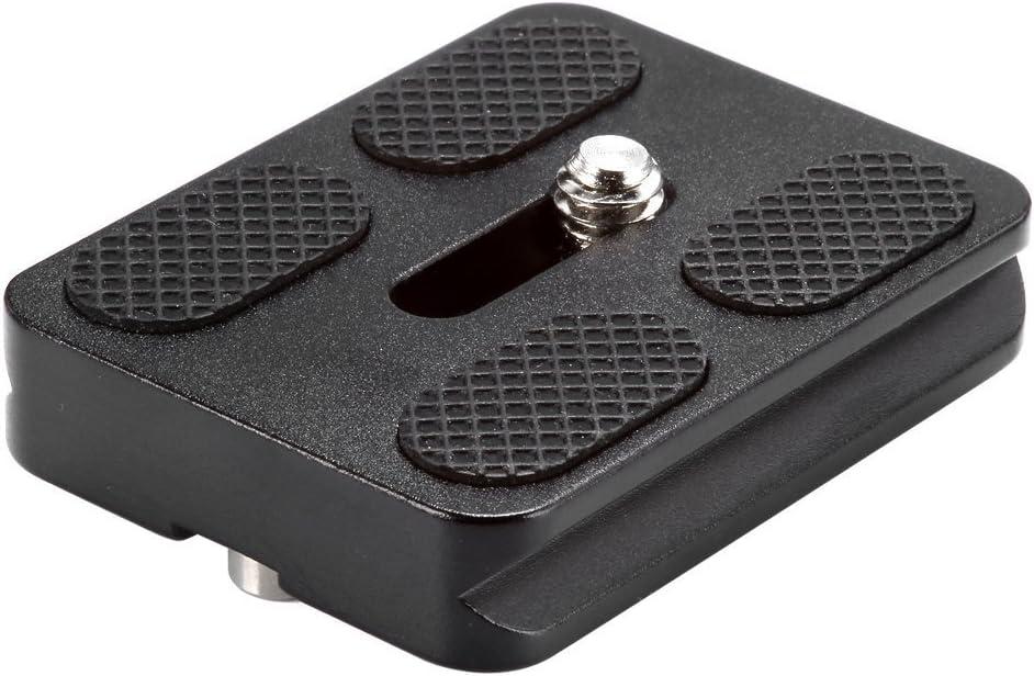 PU50 III BEXXIN Black Metal PU-50 Universal Quick Release Plate Fits Arca-Swiss Standard for Tripod Ballhead