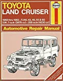 img - for Toyota Land Cruiser Owner's Workshop Manual book / textbook / text book