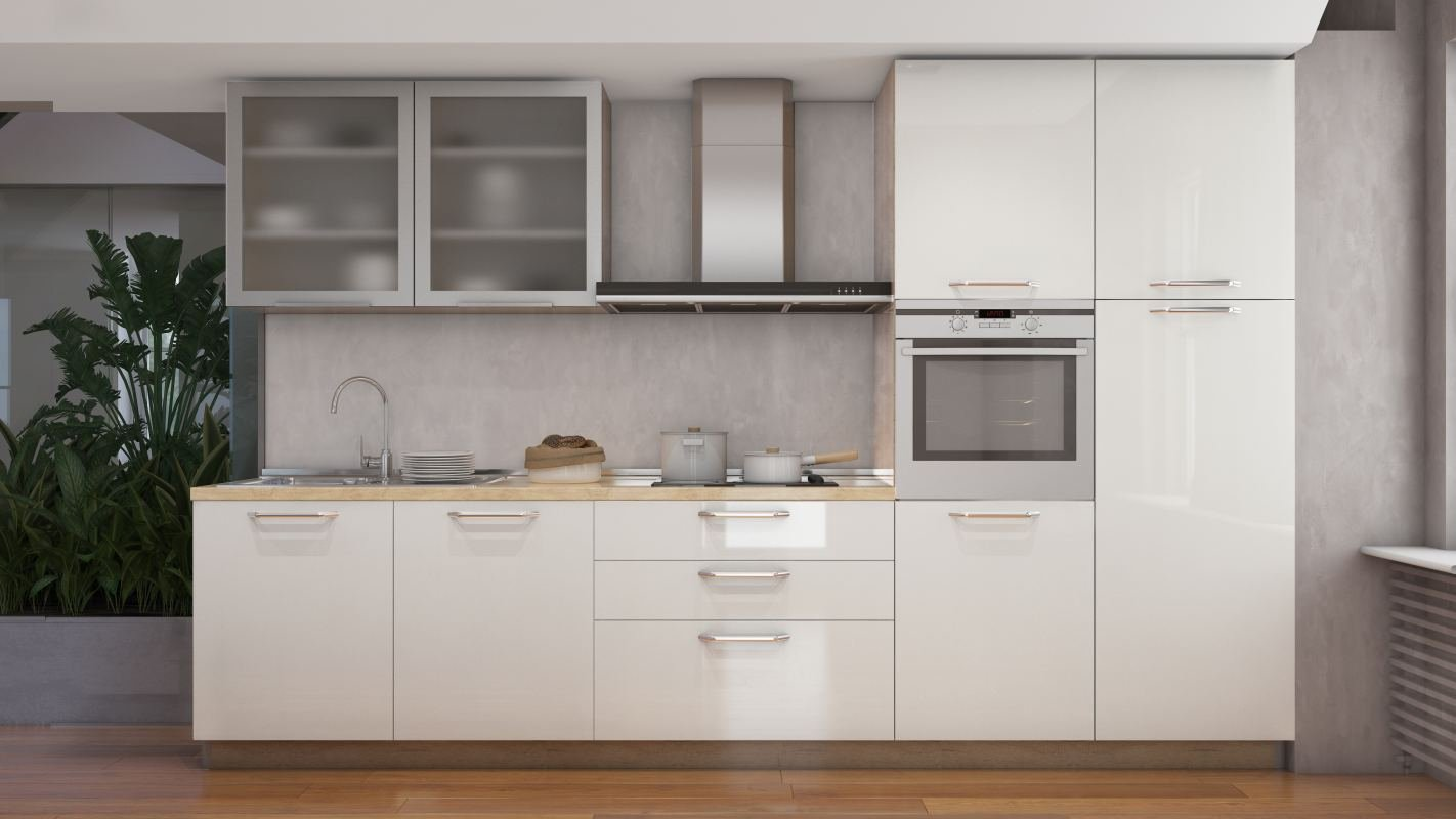 Fagor 31 - Bloque de cocina (7 piezas), color crema brillante ...