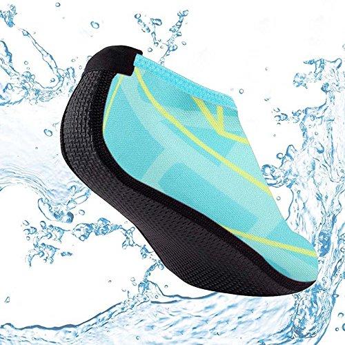 Femmes Hommes Rapide Chaussures Plonge Chaussure Universelles Snorkeling Confortable Rouge Plage De Respirant Pour Impermables Danmei Antidrapantes Chaussettes Sports Schage Rose qwBTXagTx