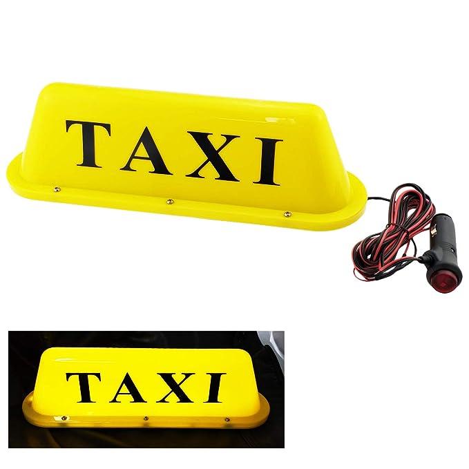 Amazon.com: NRC&XRC - Cinta magnética LED para techo de taxi ...