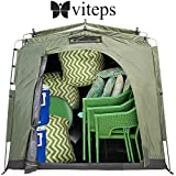 Viteps Space-Saving Outdoor Storage Shed
