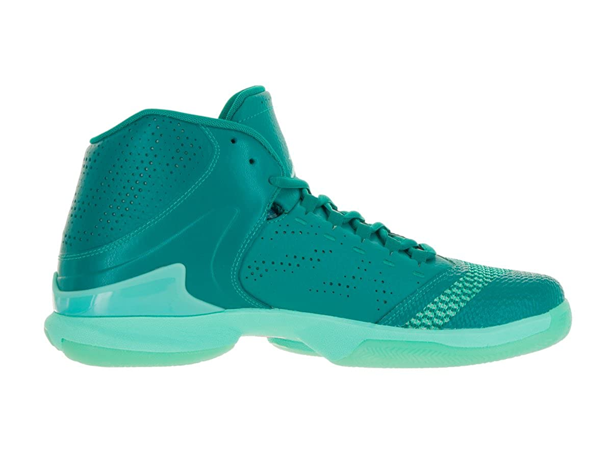 Fly 4 PO Rio Teal/Hyper Turq/Infrrdd 23 Basketball Shoe 10.5 Men US | Basketball