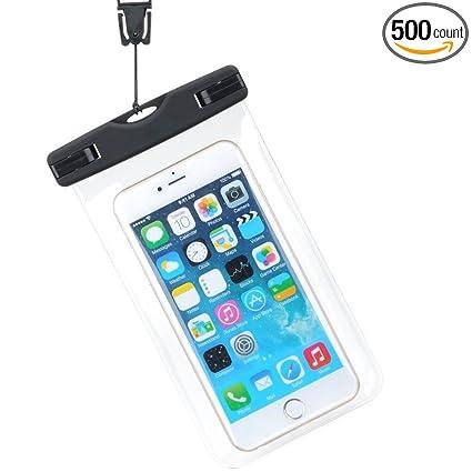 on sale d6a41 3ea90 Amazon.com : Demakt Underwater Cell Phone Case Phone Waterproof ...