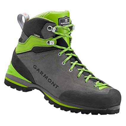 Amazon.com   Garmont ascent gtx trekking shoes sport boots anthracite    green goretex - 7   Sports   Outdoors 67c91fa1f89