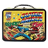 Captain America Tin Lunch Box [Beeyok! Ptow!]