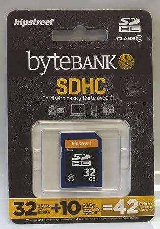 Amazon.com: Hipstreet bytebank 32 GB, clase 10 tarjeta de ...