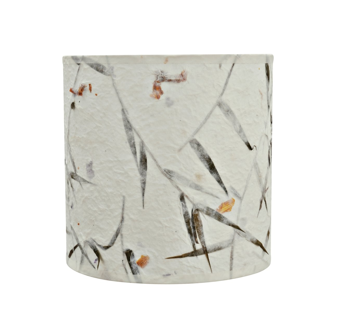 Aspen Creative 31223 Transitional Drum (Cylinder) Shaped Spider Construction Lamp Shade, 8'' x 8'' x 8'', Off White