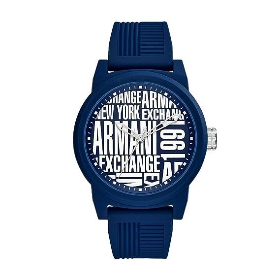 003b5cde9 Armani Exchange AX1444 Reloj para Hombre, color Azul: Amazon.com.mx ...