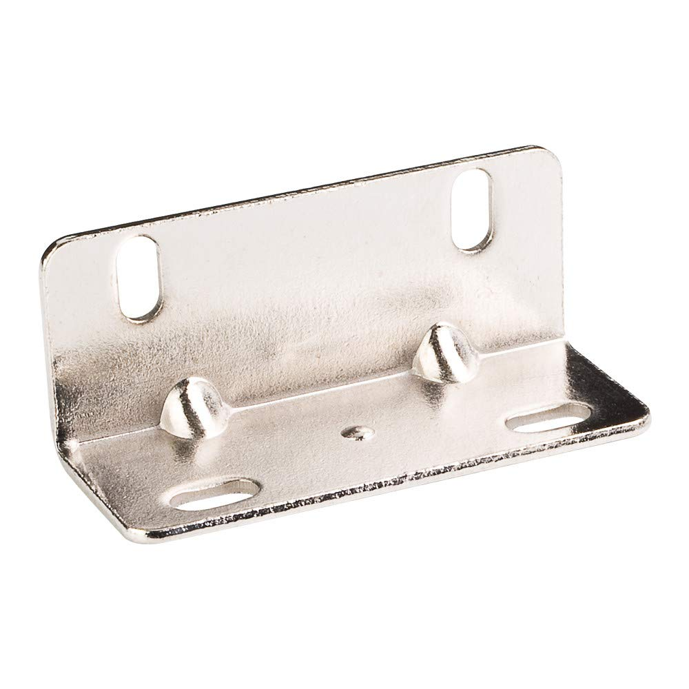 Hardware Resources 9015 1-1/4 Inch Center to Center Angle Bracket - Single