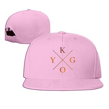 Fitty area Kygo Baseball Snapback Cap Black Pink  Amazon.co.uk ... 13a2d7b393d
