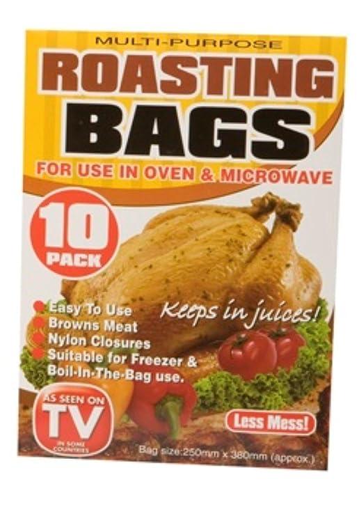 PMS International Pack de 10 Bolsas de asado para Uso en el Horno ...