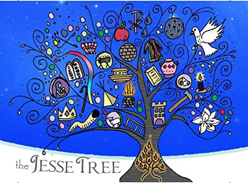 20 Jesse Tree Christmas Cards with Envelopes (Origins The Of Christmas Tree)
