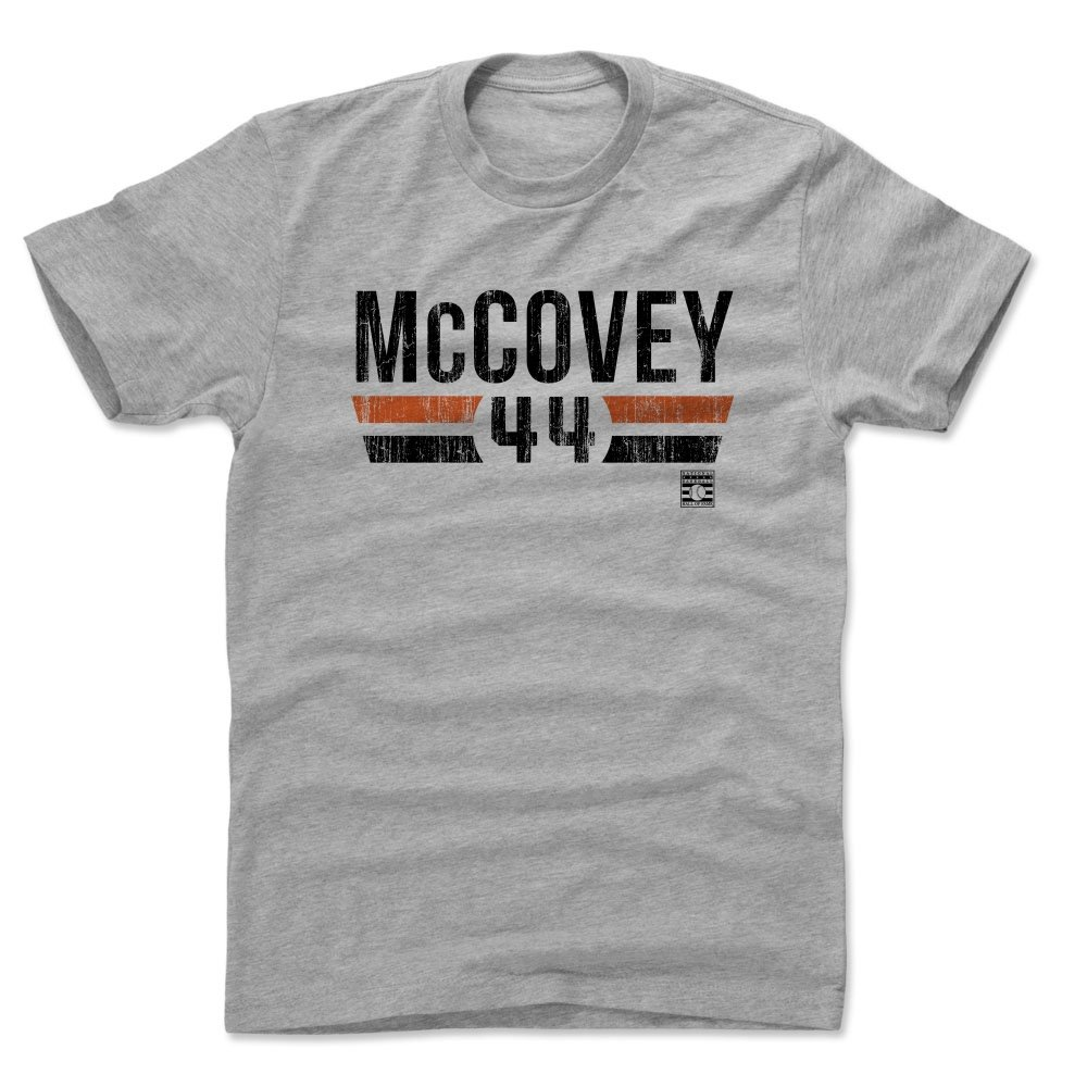 Willie Mccovey Shirt Vintage San Francisco Baseball S Apparel Willie Mccovey Font